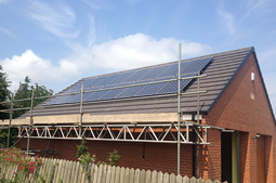 4kw Solar panel installation